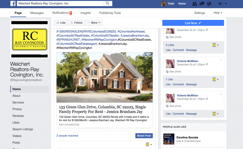 Social Media Marketing Real Estate Autopost Facebook